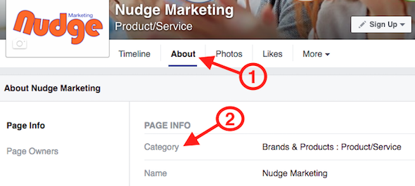 Change Facebook Page Category