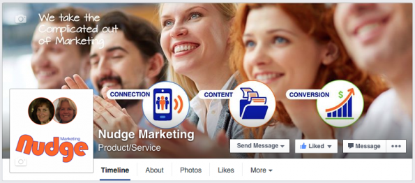 Facebook Cover Image Nudge Marketing