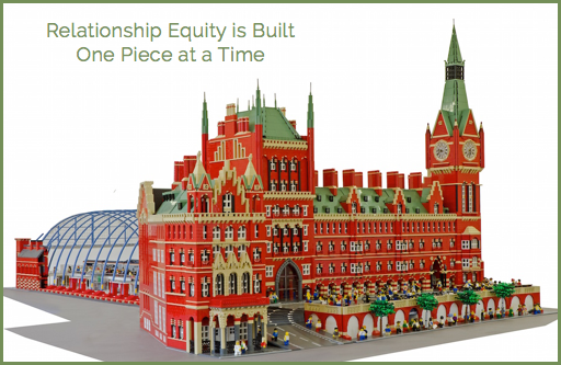 Relationship Equity - One Piece at a Time