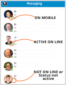 What's New on LinkedIn - Active in messenger