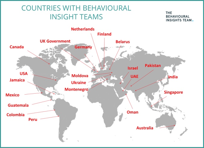 Behavioural Insight Throughout the World