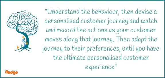 Dynamic Behavioural marketing - quote
