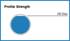 LinkedIn Profile strength