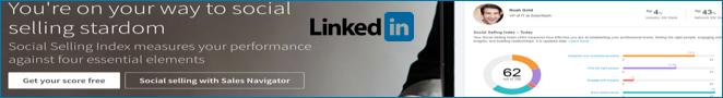 LinkedIn ranking SSI