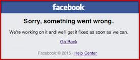 Facebook-crashes